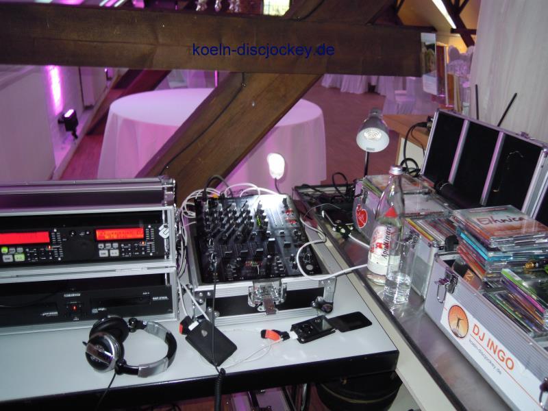 DJ Hochzeit Kastanienhof Koeln