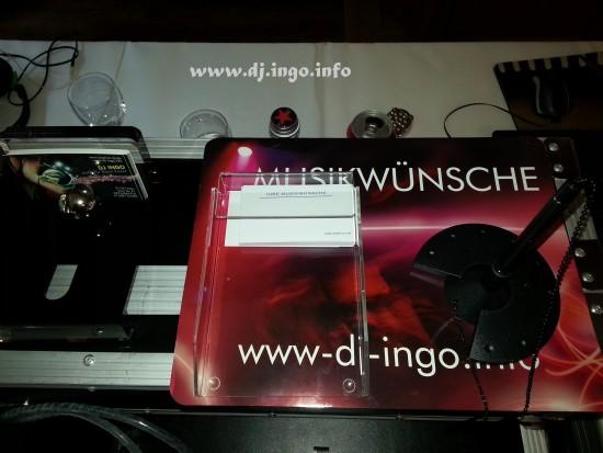 DJ Zons Friedestrom Hotel Schloss Hochzeit Heirat Discjockey Mobildisco 5
