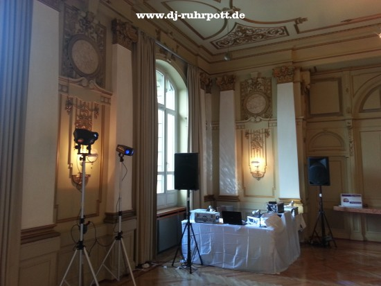 DJ Wuppertal Historische Stadthalle Hochzeit Discjockey Mobildisco